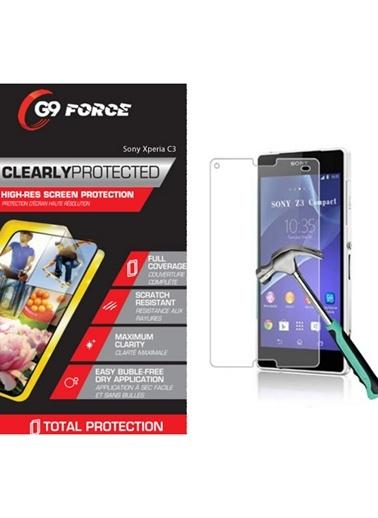 Xperia C3 Kırılmaz Cam Ekran Koruyucu-G9 Force